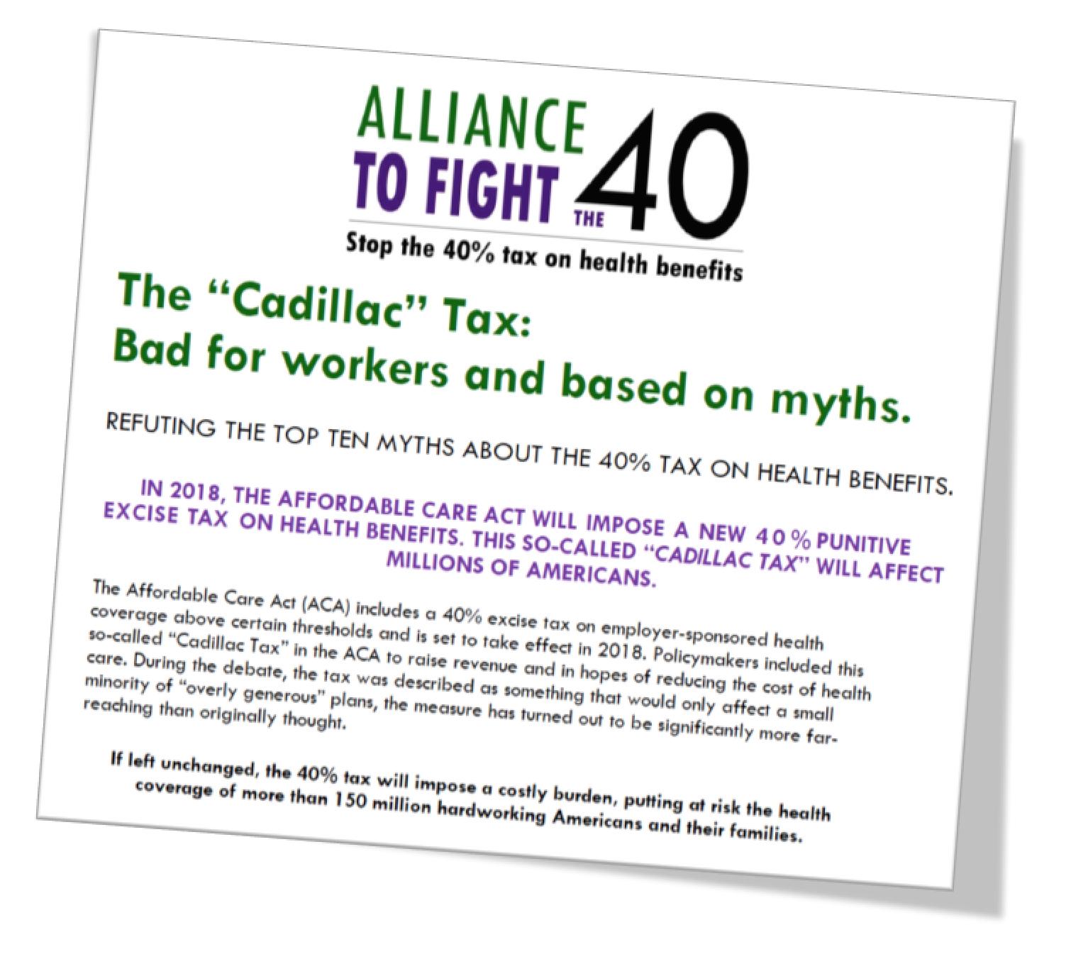 The Curious Politics Of The Cadillac Tax Health Stew